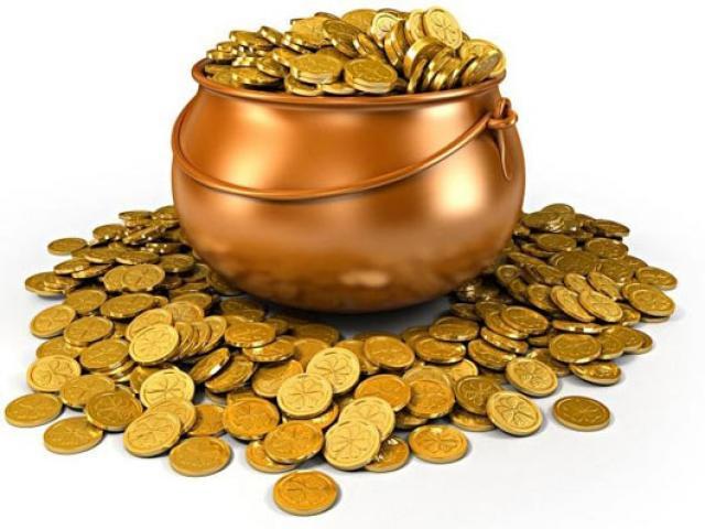 nằm mơ thấy tiền vàng